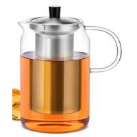 China Individual hot sell New style borosilicate heat-resistant glass teapot glass pitcher on sale