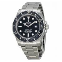 Quality Rolex Seadweller Black Dial Stainless Steel Mens Watch 116600BKSO for sale