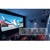 10 Persons 5D Cinema Equipment With Genuine Leather Motion Chair Manufactures
