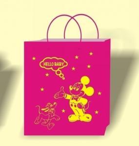 Pink color bag printing, bag printing house, bulk paper bags, wholesale bag supplier, bag seller Manufactures