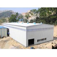 China Farm Machinery Steel Frame Shed / Small Steel Warehouse Buildings SGS on sale