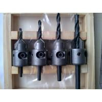 TC-004V Hand Tool Parts 4PCS TCT Carbide Tipped Countersink Drill Bits For Wood Drilling Manufactures