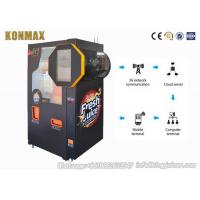 China Auto Coin Operated Freshly Squeezed Orange Juice Vending Machine Refrigeration System on sale