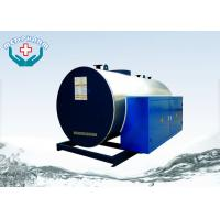 CWDR Horizontal Industrial Steam Boiler With Stainless Steel Heating Pipe Manufactures