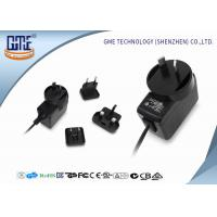 Interchangeable Type Desktop 12v Power Adapter UL FCC GS CE RCM Approved Manufactures