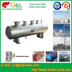 1000 Ton gas fire steam boiler mud drum TUV Manufactures
