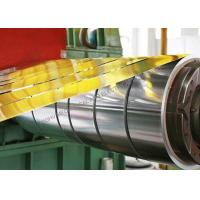 8011 Temper O Food Grade Aluminum Foil Strip Non Lubricated With 35 Micron Thickness Manufactures