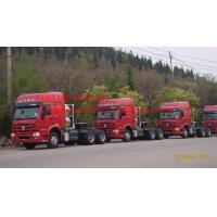 China ZZ4257N3237CZ Prime Mover Truck Sinotruck Howo 6 x 2  Tractor Head  420HP Engine, left hand drive on sale