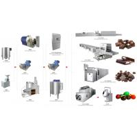 China Industrial Chocolate Factory Machine Chocolate Production Line Energy Saving on sale