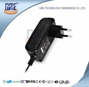 AC DC Adaptor 12V Wall Wart Adapter , Universal Power Adapter EU Plug Manufactures