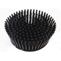 Alloy Round Black Aluminum Heat Sinks For Electronics / LED Light Manufactures