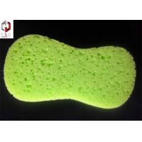 Yellow Kitchen Washing Sponge Foam With Pore For Household Cleaning Manufactures