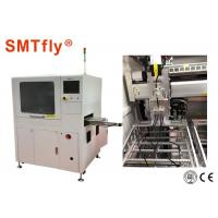 Automatic PCB Router Machine , In - Line Laser PCB Depaneling Machine Under Vacuum Manufactures