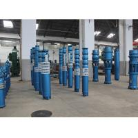 Vertical Deep Well Submersible Water Pump 9m3/H - 540m3/H Flow 10 - 465m Head Manufactures