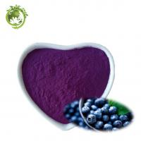 Factory Supply 100% soluble in water Blueberries Juice Powder;Natural concentrate1%-30% Anthocyanidins Manufactures