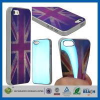 Retro UK Style TPU Gel Soft Girls Fashion Durable Cell Phone Cases For Apple Iphone 5S Manufactures