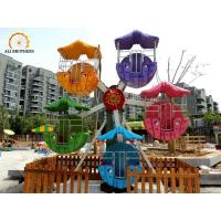 Funny Kids Ferris Wheel 360 Degrees Rotation Angle Accommodate 10 Passenger Manufactures