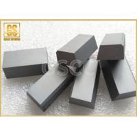 YG6 Type Carbide Brazing Tips HRA 90.5 , Cuboid Cemented Carbide Tool Tips Manufactures