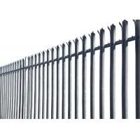 D pale Palisade Fencing Manufactures