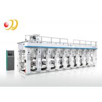 8 Color Computerized Rotogravure Printing Machine For Pvc Shrink Bopp Pet Paper Manufactures
