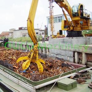 Garbage Station 10Tm 3.2m Depth Hydraulic Crane Grab Bucket Manufactures