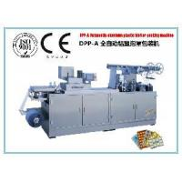 China DPP-320A Automatic Aluminum Plastic Blister Packing Machine on sale