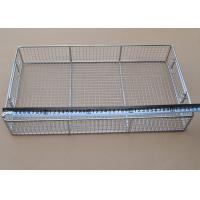 Durable Deep Fry Basket Stainless Steel For Medical Disinfect Tray Manufactures