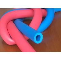 Customized Printed Silicone Foam Tubing , High Temperature Silicone Sponge Rubber Tube Manufactures