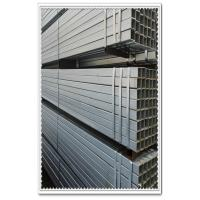 6x6 - 600x600mm ERW Galvanized Square / Rectangular Carbon Steel Tube , Gr.B - Gr.D Manufactures