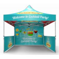 3 x 3 Advertising Folding Tent Custom Branded Gazebos Printed Marquee Manufactures
