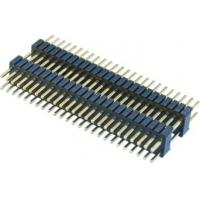 Buy cheap WCON 1.27*2.54mm Pcb Header Connector Double Plastic 180° DIP  PA9T  Brass H=2.54 from wholesalers