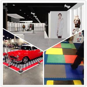 China 3W Conferance Hall/Storage Shed/Bar/Commecial Matting/Exhibition Interlocking Flooring on sale