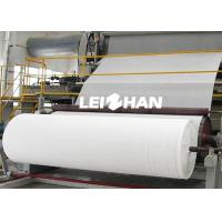 China 50T/D Small Scale Tissue Paper Making Machine For Toilet Tissue Papers on sale