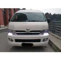 China Used Mini Bus low Mileage For The Passenger 13 Seats HIACE Traveling color white on sale