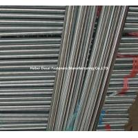 Customized Stainless Threaded Steel Rod / Zinc Plated Threaded Rod High Accuracy Manufactures