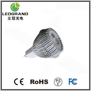 110V / 120V /130V AC MR16 3 LED Spot Lamps LG-DB-1003J Manufactures