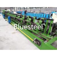 Interchangeable C Purlin Roll Forming Machine Green / Blue Automatic C Type Manufactures