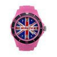 China PMS Color Silicone Wrist Watch With UK Flag Pattern For Girls / Boys OEM / ODM on sale