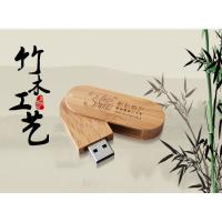 Factory directly lanyard wooden USB drive, neck strip bamboo USB stick, Free visual proof.