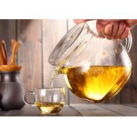 Easy Clean Clear Tea Kettle , 350ml Office Customized Decal Loose Tea Pot Manufactures