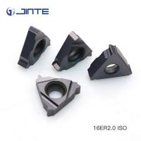 16IR 2.0ISO high precision ISO metric carbide threading inserts Manufactures