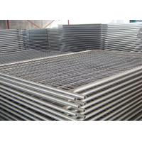 Light Pool Construction Temporary Security Fencing Strong And Robust Design Manufactures