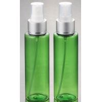 Hot Sale cosmetic plastic PET Clear silver pump lotion  bottle 100ml with  with fine mist spray Manufactures