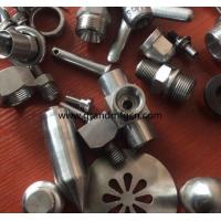 China male thread OEM,ODM stainless steel precision machined & turned down parts natural finishing on sale