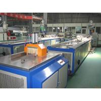 Plastic Window Sill PVC Profile Extrusion Machine / PVC Window Machine Manufactures