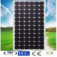 150W Mono-crystalline Solar Panel made of 6 inch solar cell