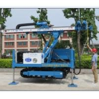 MDL-135H Anchor Drilling Rig Foundation Piling Machine WITH DTH HAMMER Manufactures