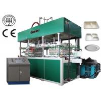 Fully Automatic Thermoforming Pulp Molding Equipment for Tableware / Dishware YC010 Manufactures