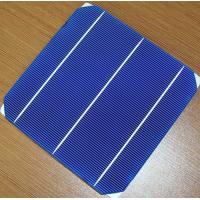 China A grade certified solar cell mono / mono crystalline 156mm solar cell on sale