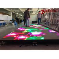 China P4.81 RGB Full Color LED Video Dance Floor For Night Club Stage Disco on sale